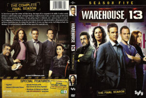Warehouse 13 dvd cover