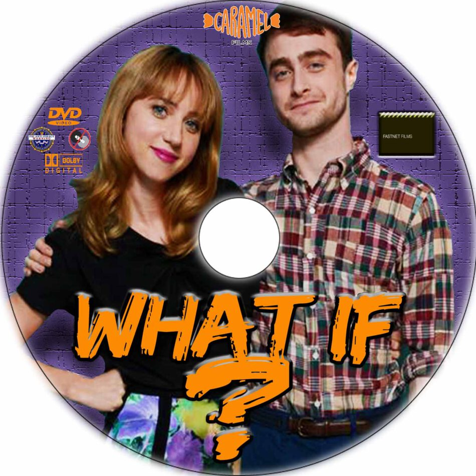 What If dvd label