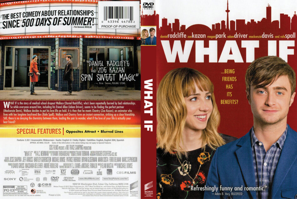 What If dvd cover
