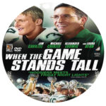 When the Game Stands Tall (2014) R0 Custom Label