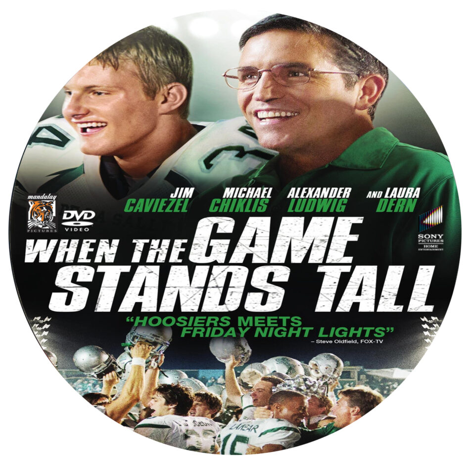 When the Game Stands Tall dvd label