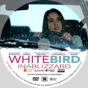White Bird in a Blizzard dvd disc