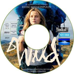 WILD dvd label