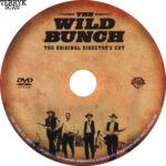 The Wild Bunch (1969) R1 DVD Label