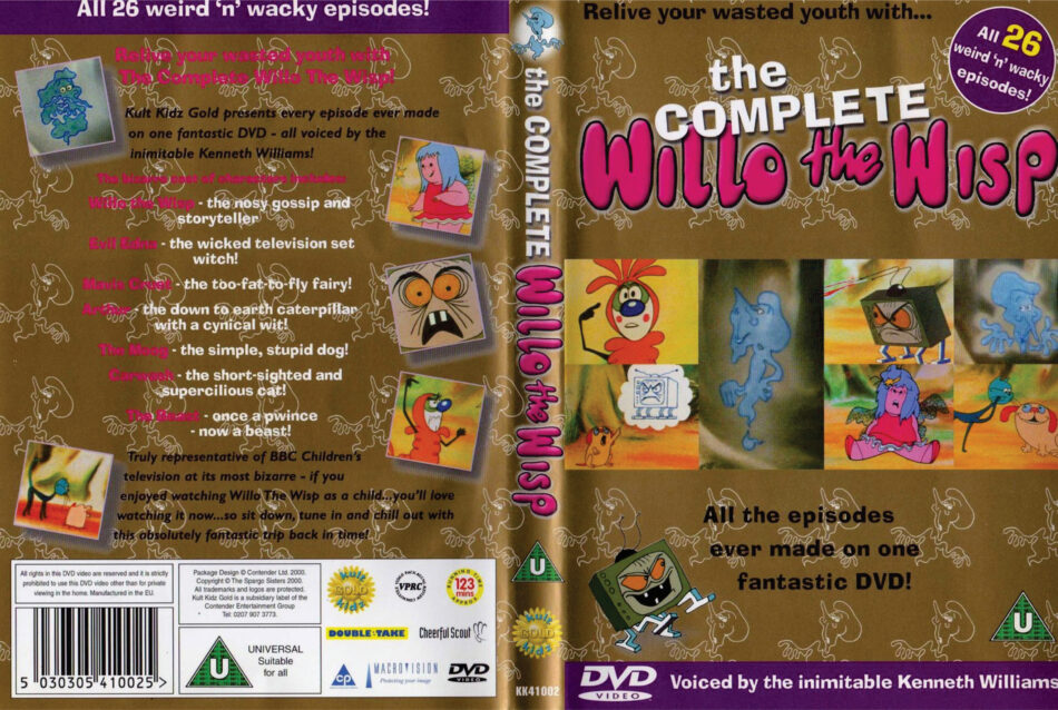 Willo the Wisp dvd cover