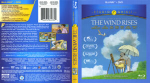 the Wind Rises blu-ray dvd cover