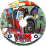 Wings: Sky Force Heroes (2014) R1 Custom DVD Label