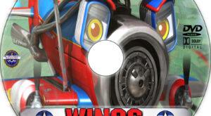 Wings: Sky Force Heroes dvd label