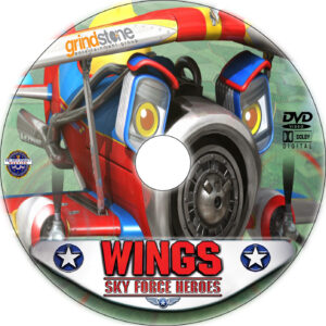 Wings: Sky Force Heroes dvd label