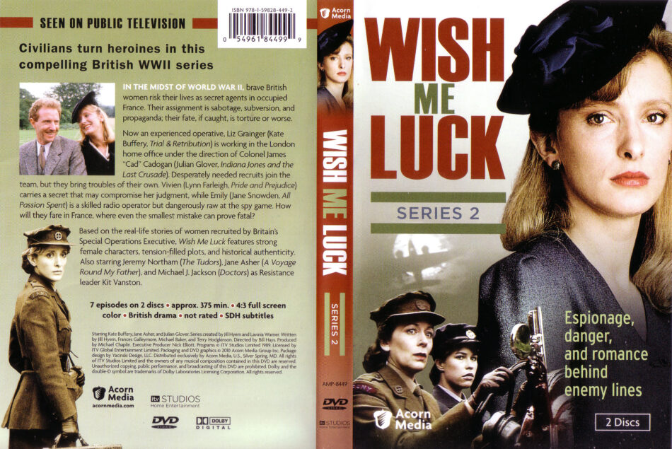 Wish Me Luck Series 2 dvd cover