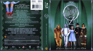 Wizard of Oz (Blu-ray) dvd cover