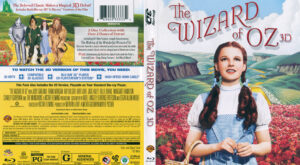 Wizard of Oz, The (Blu-ray) 3D dvd cover