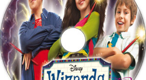 Wizards of Waverly Place: The Movie dvd label