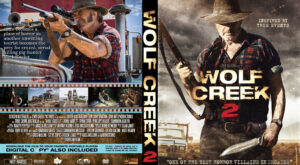 Wolf Creek 2 dvd cover