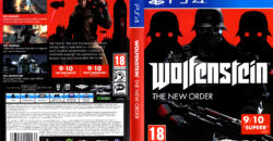 Wolfenstein - The New Order dvd cover