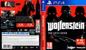 Wolfenstein - The New Order dvd cover