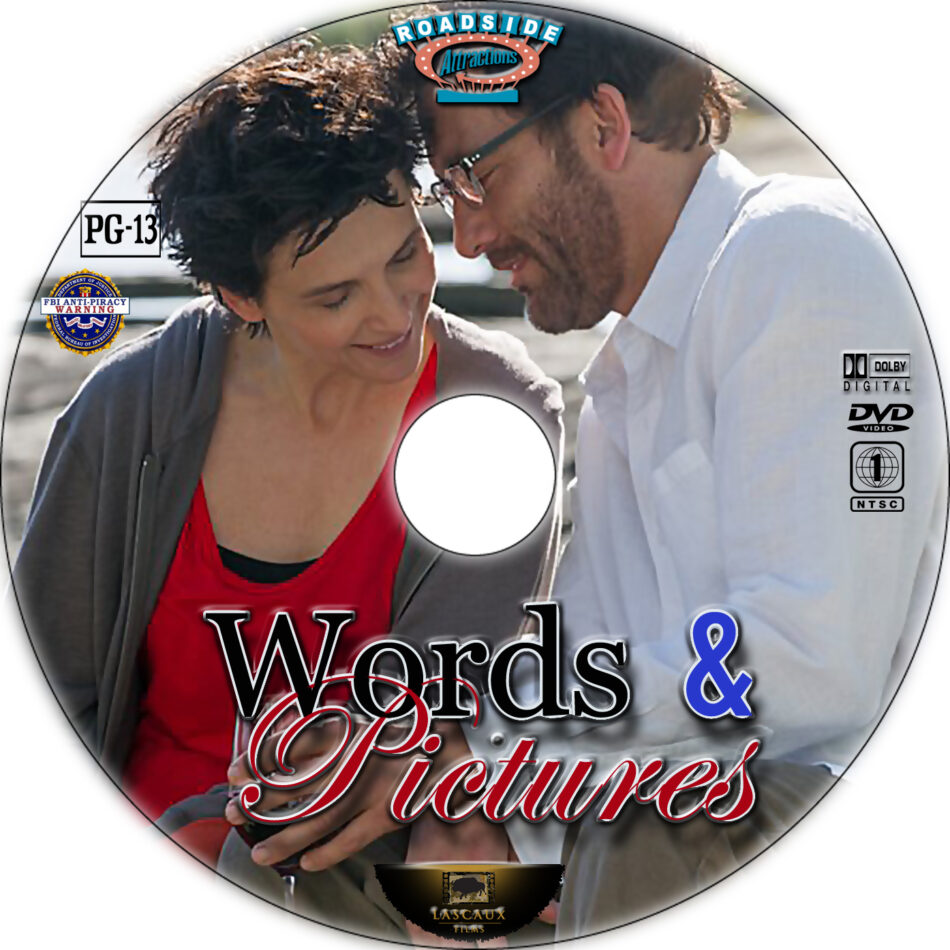 Words and Pictures dvd label