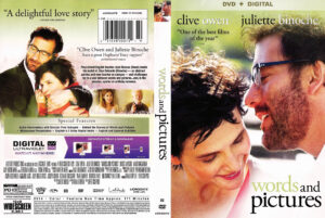 Words and Pictures dvd cover
