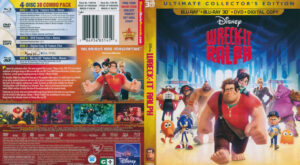Wreck It Ralph 3D (Blu-ray) dvd cover
