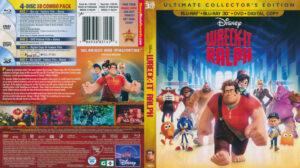 Wreck It Ralph 3D (Blu-ray) dvd cover