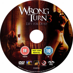 Wrong Turn 3, Left For Dead (2009) [R2 Label]