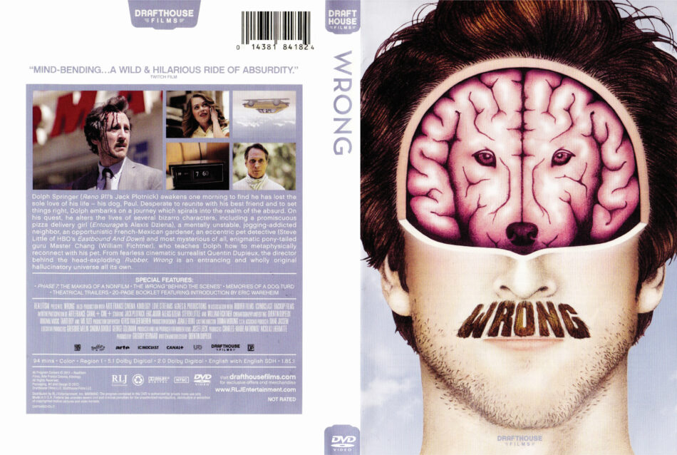 Wrong dvd cover