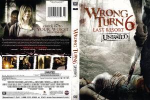 Wrong Turn 6: Last Resort dvd cover
