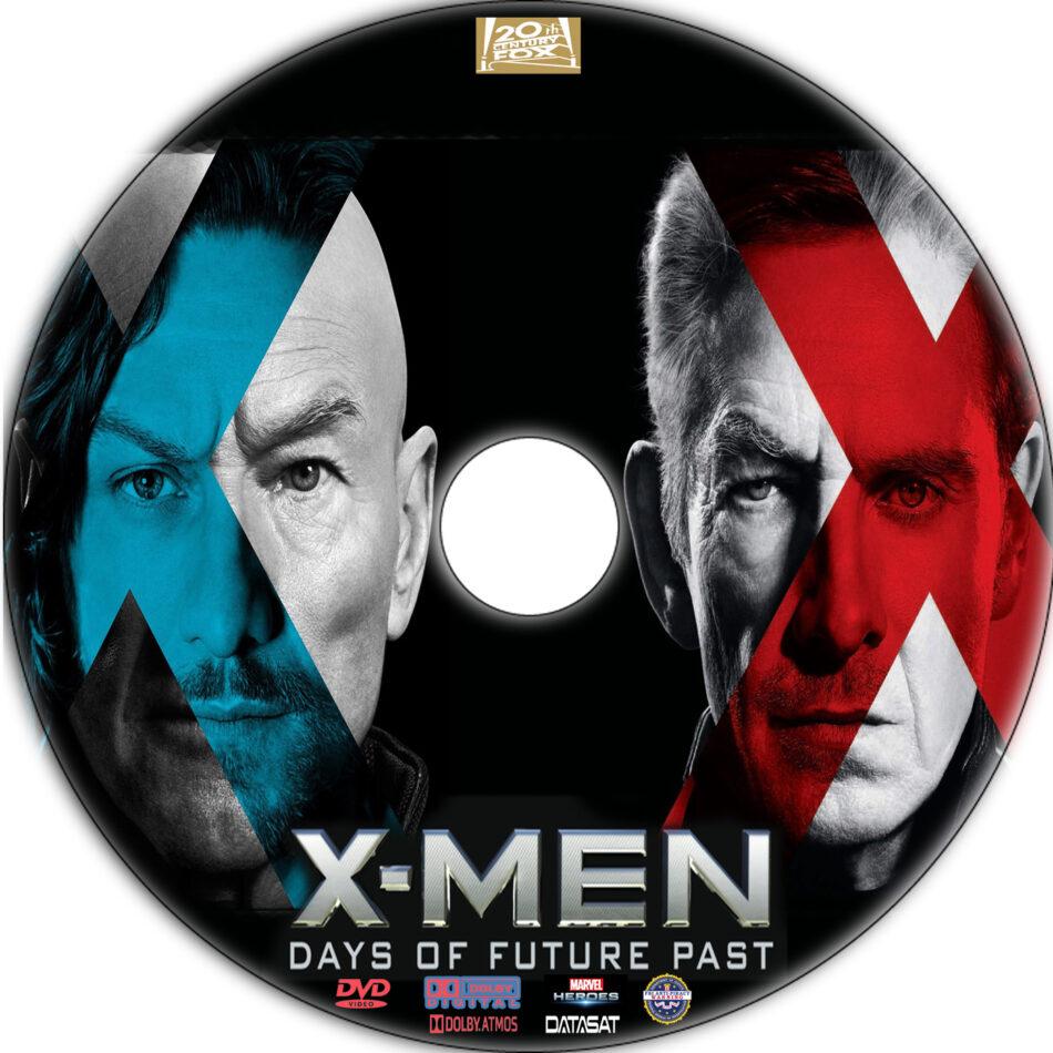 X-Men: Days of Future Past dvd label