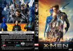 X-Men Days of Future Past (2014) R0 CUSTOM DVD COVER