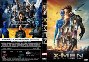 X-Men Days of Future Past dvd cover