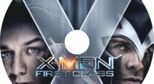 X-Men First Class (Blu-ray) Label