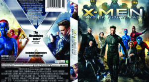 X-Men: Days of Future Past dvd cover