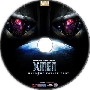 X-Men: Days of Future Past dvd label