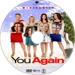 You Again dvd label