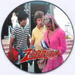 Zapped! (1982) Custom Label