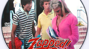 Zapped! dvd label