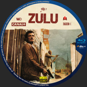 zulu blu-ray dvd label
