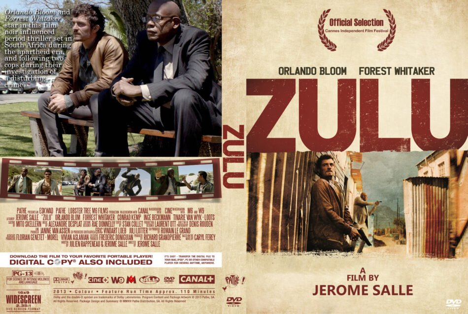 Zulu dvd cover