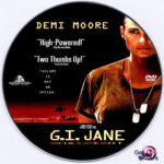 G.I. Jane (1997) R0 Custom DVD Label