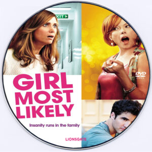 girl most likely dvd label