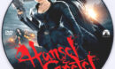 Hansel & Gretel: Witch Hunters (2013) R0 Custom DVD Label