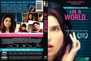 in a world... dvd cover 2013