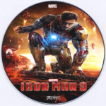 Iron Man 3 (2013) R0 Custom CD Cover