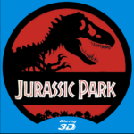 Jurassic Park 3D Custom DVD Label
