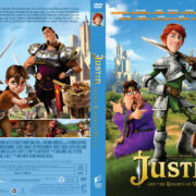 Justin and the Knights of Valour (2013) R1 Custom DVD Cover