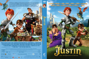 Justin and the Knights of Valour dvd cover