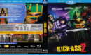 Kick-Ass 2 (2013) R1 Custom Blu-Ray DVD Cover