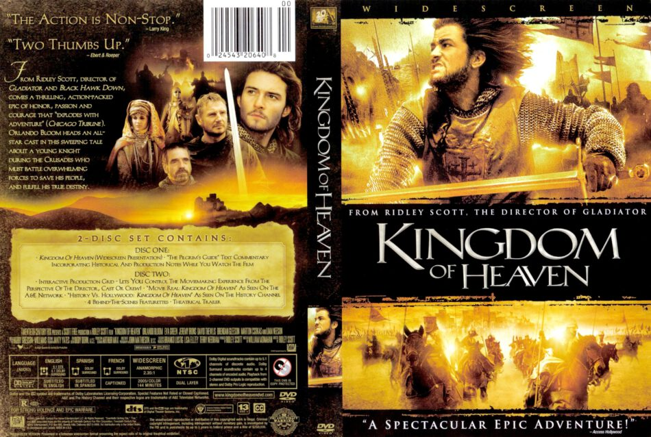 Kingdom Of Heaven 2005 Ws R1 Movie Dvd Cd Labels Dvd Cover Front Covers