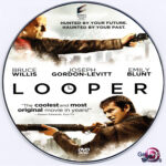 Looper (2012) R0 Custom  DVD Label