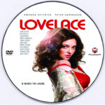 Lovelace (2013) Custom DVD Label
